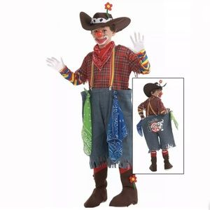 🆕 RODEO CLOWN Child Boy Unisex Costume Halloween